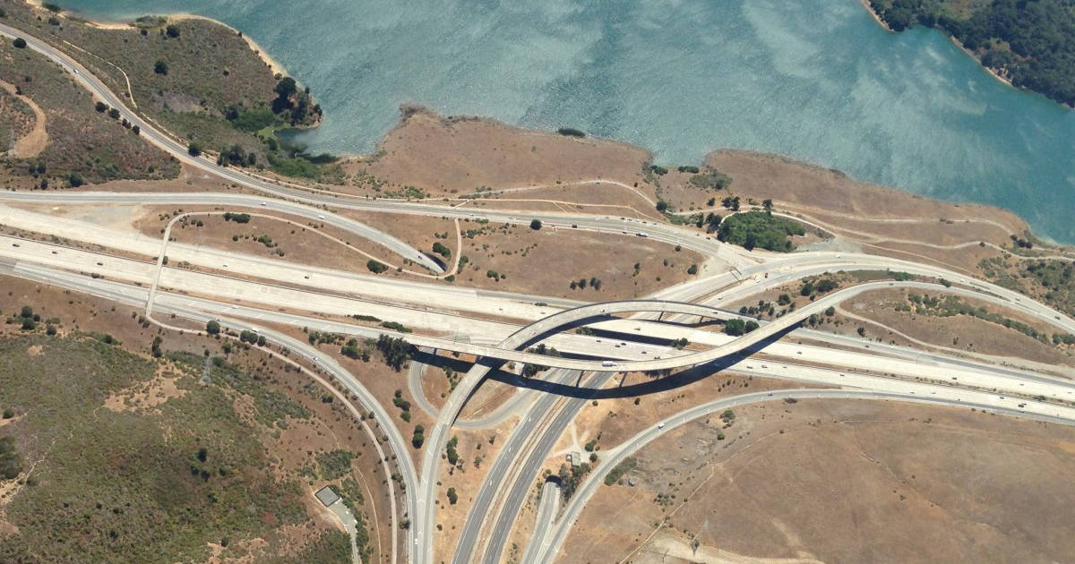 ResNets are similar to highway networks, like this picture of the 280--94 highway interchange.